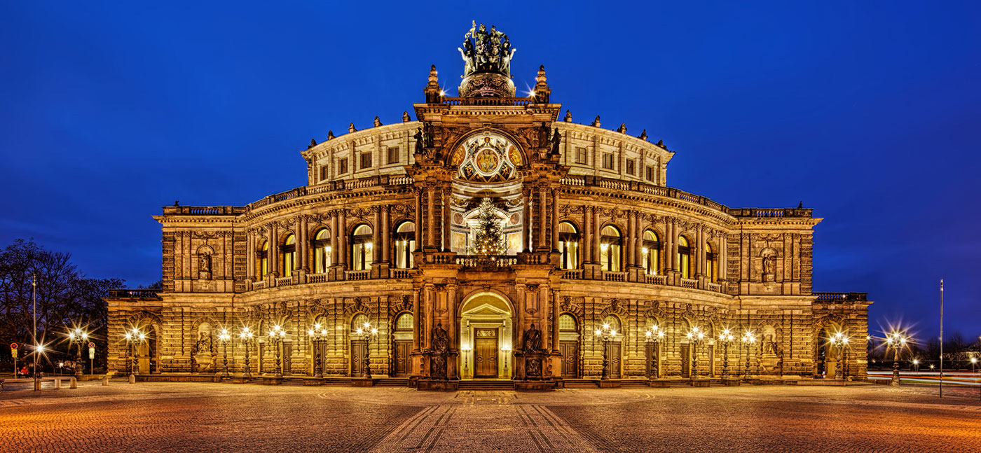 Architekturfotografie-Semperoper